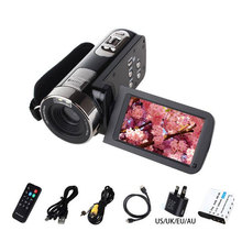 Buy High HDV-301STR 1080P Full HD Digital Video Camera 24MP 16x Digital ZOOM Video Camcorder DV DVR 3'' TFT LCD Screen for $66.79 in AliExpress store