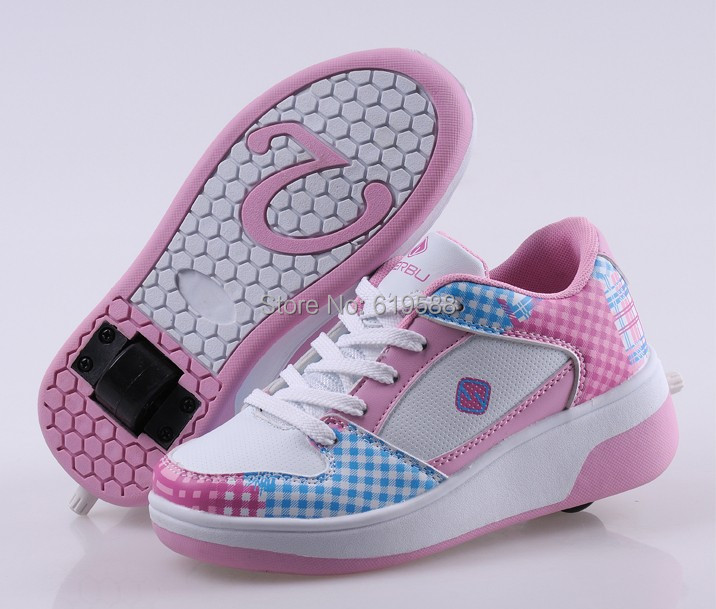 Wheel Shoe Children Sneakers Fashion Casual Sports Shoes Child One Roller Skate Kids Flying Size 32-39 - Louise's Commodity Supermarket store