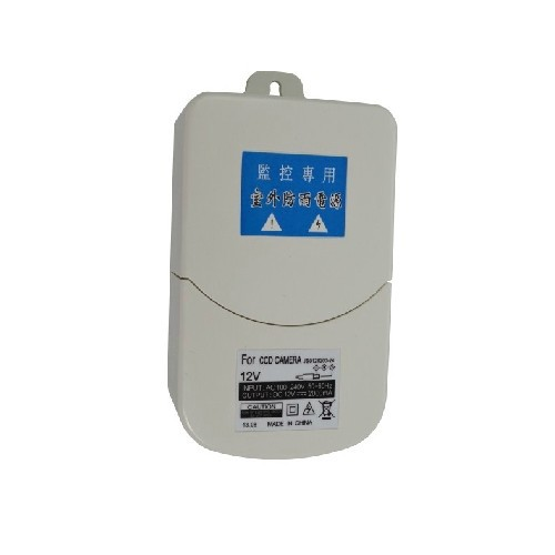 Waterproof Outdoor CCTV Power Supply DC 12V 2A Power Adapter Power Switch US EU UK for cctv camera(China (Mainland))