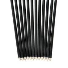 12pcs pack 32 Long Color Green Black Steel Point Fiberglass Hunting Arrows for Compound Bow Free