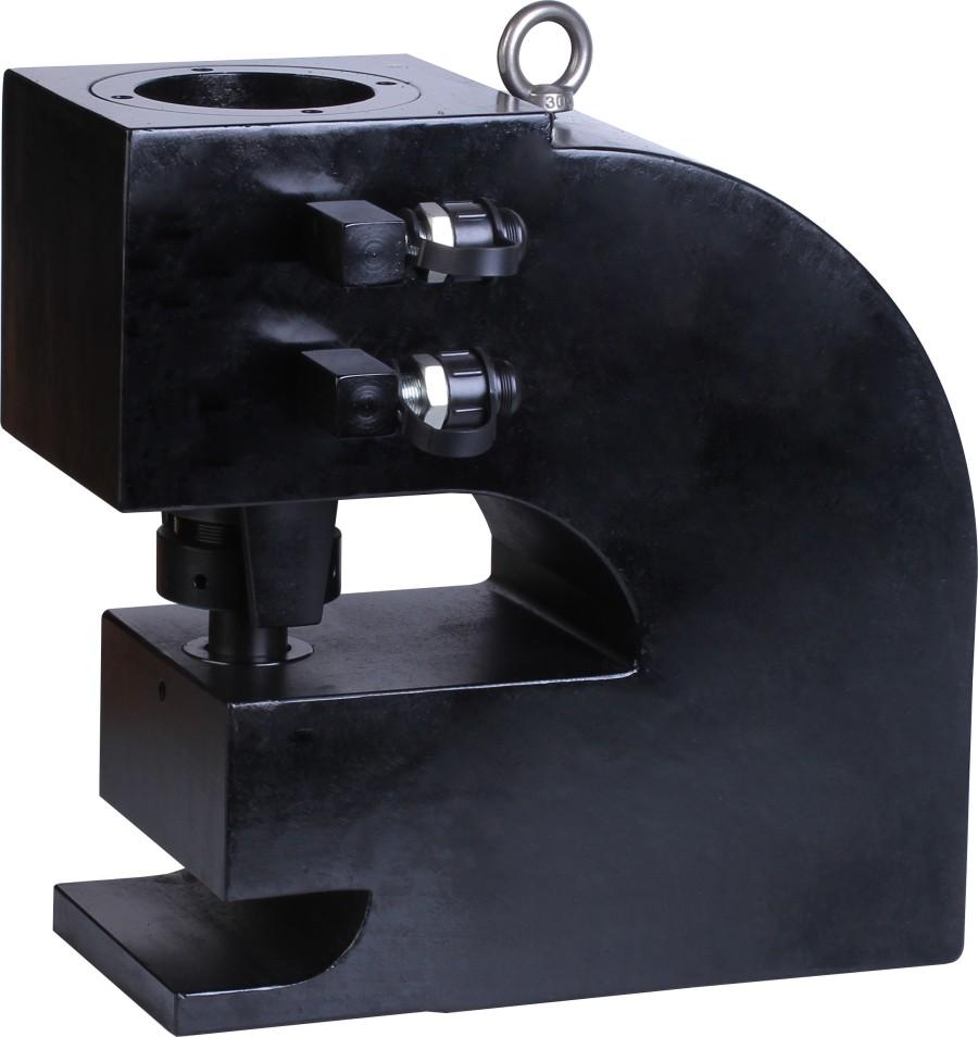 22mm 120 Ton Heavy duty hydraulic beam steel punching machine,hydraulic H steel punch CH-120A(China (Mainland))