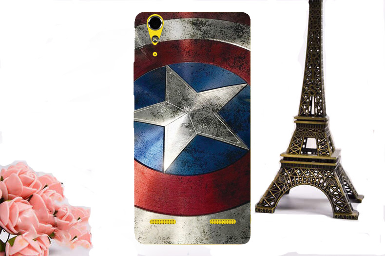 High Quality DIY Flowers Minions Batman Superman Case Cover Hard Printing PC Plastic Phone Cases For Lenovo A6000 K3 Back Cover