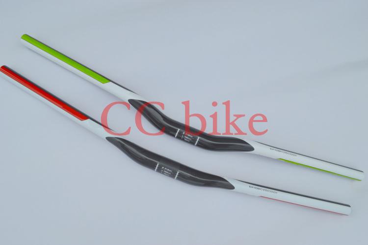 full carbon fiber mtb flat bar riser handlebar superlight bicycle parts 31.8*680/700/720mm 135g(China (Mainland))