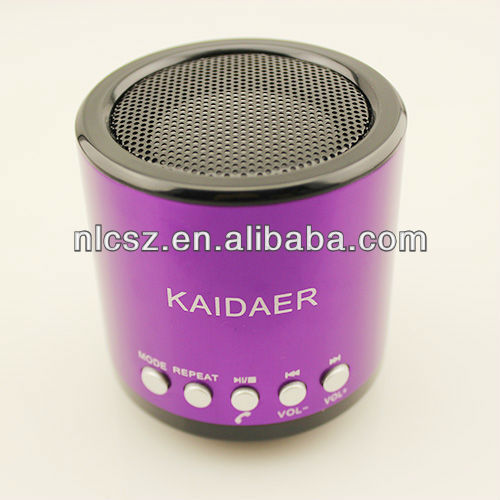 New Music Portable Mini USB Micro cylindrical  Player Speaker& computer speaker with bluetooth