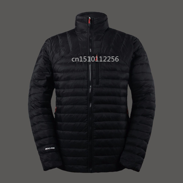 Brand With Logo Men Duck Down Jacket Ultra Light Тонкий Outdoor men Winter jacket ...
