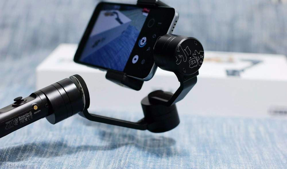 Zhiyun Z1 Smooth C plus 3 axis brushless phone gimbal smartphone stabilizer handheld gimbal holder for Iphone5s,5c,6,6 plus