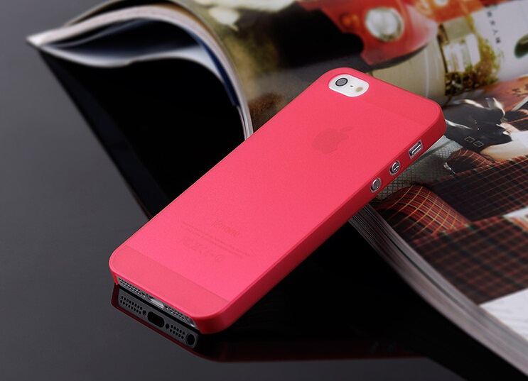 0.3MM Ultra Thin Matte Soft Back Case Bumper Cover Skin for Apple iphone 5 5G 5S(China (Mainland))