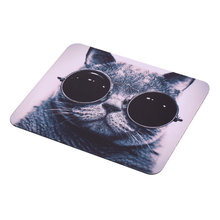 Cat Picture Anti-Slip Laptop PC Mice Pad Mat Mousepad For Optical Laser Mouse Hot Selling(China (Mainland))