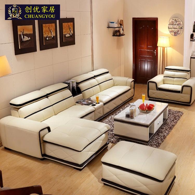 Online kopen wholesale lederen poef meubels uit china lederen poef meubels groothandel - Rechthoekige lederen pouf ...