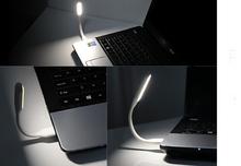 Bendable Mini Lamp USB Port PC Power Bank Partner Computer Tablet PC USB LED Lamp 5V 1.2W Portable USB Light LED Light(China (Mainland))