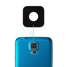 Buy Samsung Galaxy S5 G900 Glass Lens Cover Rear Back Big Camera + 3M Glue Adhesive Sticker Replacement Spare Parts for $2.50 in AliExpress store