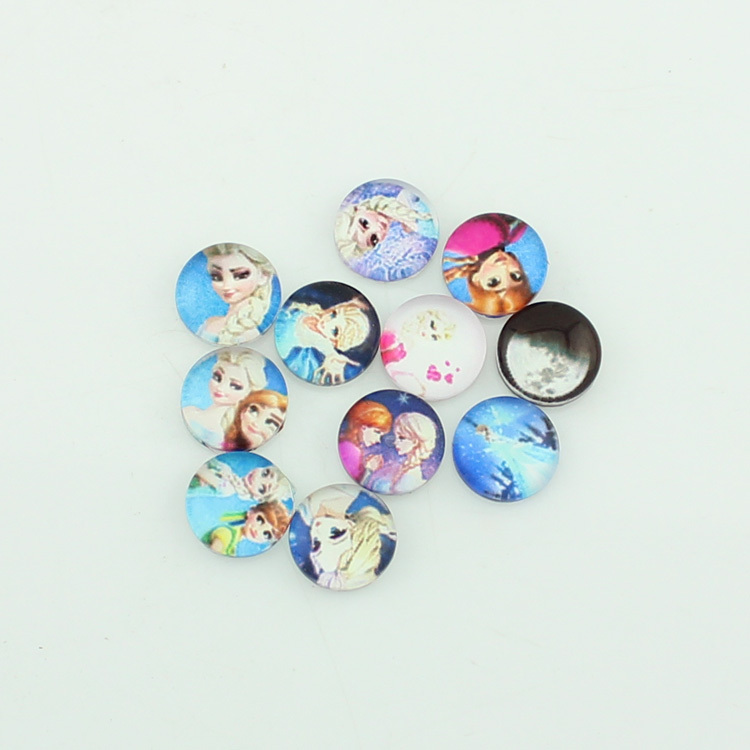 Free shipping!new style mixed snow queen floating charms cause floating charms 110pcs/lot MIX988(China (Mainland))