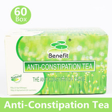 60 Boxes Anti-Constipation Healthy Green Tea Laxative Relax Easy Smooth Detox Fatty Liver Senna Tea(China (Mainland))