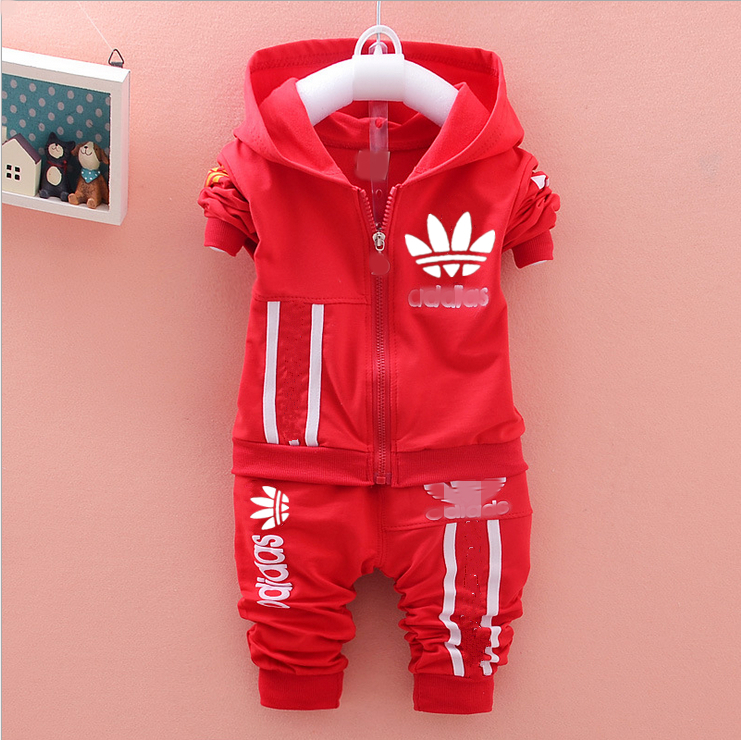 children boys sport set jogging jacket pants girls clothing sets kids hoodie sweatshirt baby track suit spring autumn clothes(China (Mainland))