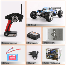 WLtoys A959 2.4G Electric Rc Cars 50Km/H 4WD Shaft Drive Trucks High Speed Radio Control Rc Monster truck,Super Power Ready toys(China (Mainland))