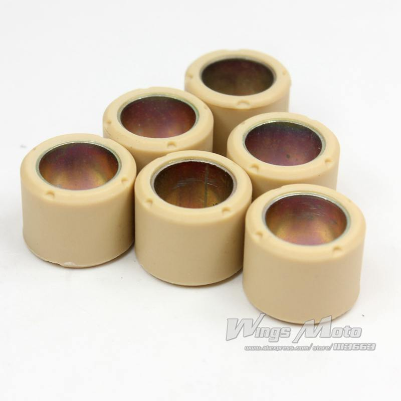 10pcs Wholesale PERFORMANCE 4 5 GRAM ROLLER WEIGHTS 16X13 font b GY6 b font 50 139QMB