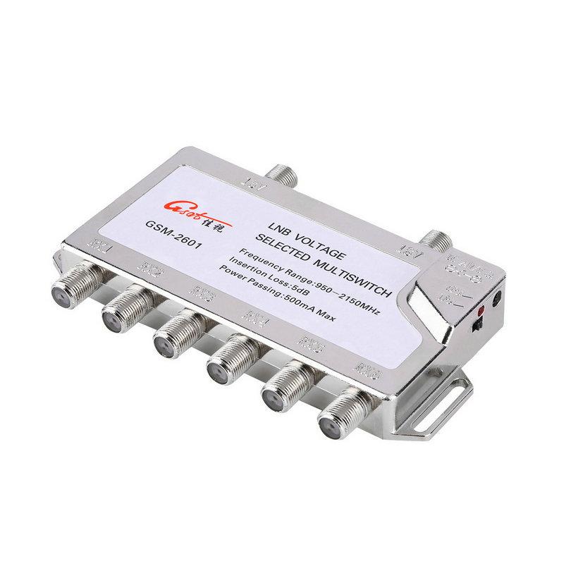 Diseqc switch 4x1 s4/1ecn-2 - 4 years warranty, made in eu ebay