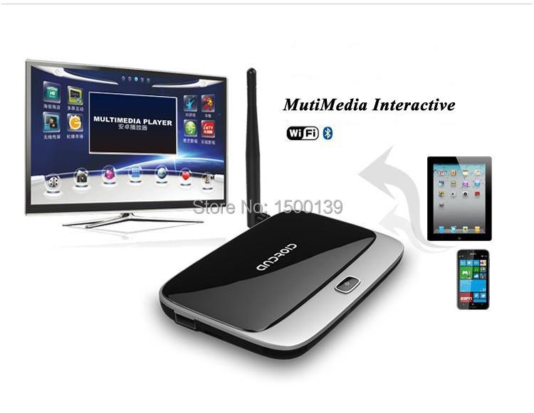 XBMC Q7 cs918 Android TV Box RK3188 2GB/8GB Quad Core Mini PC Smart TV Media Player with Remote Controller Free shipping(China (Mainland))