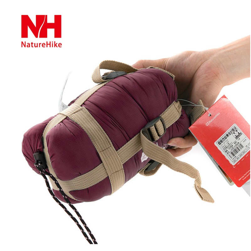 Naturehike envelope sleeping bag outdoor air travel mini child adult camping waterproof patchwork double sleeping bag(China (Mainland))