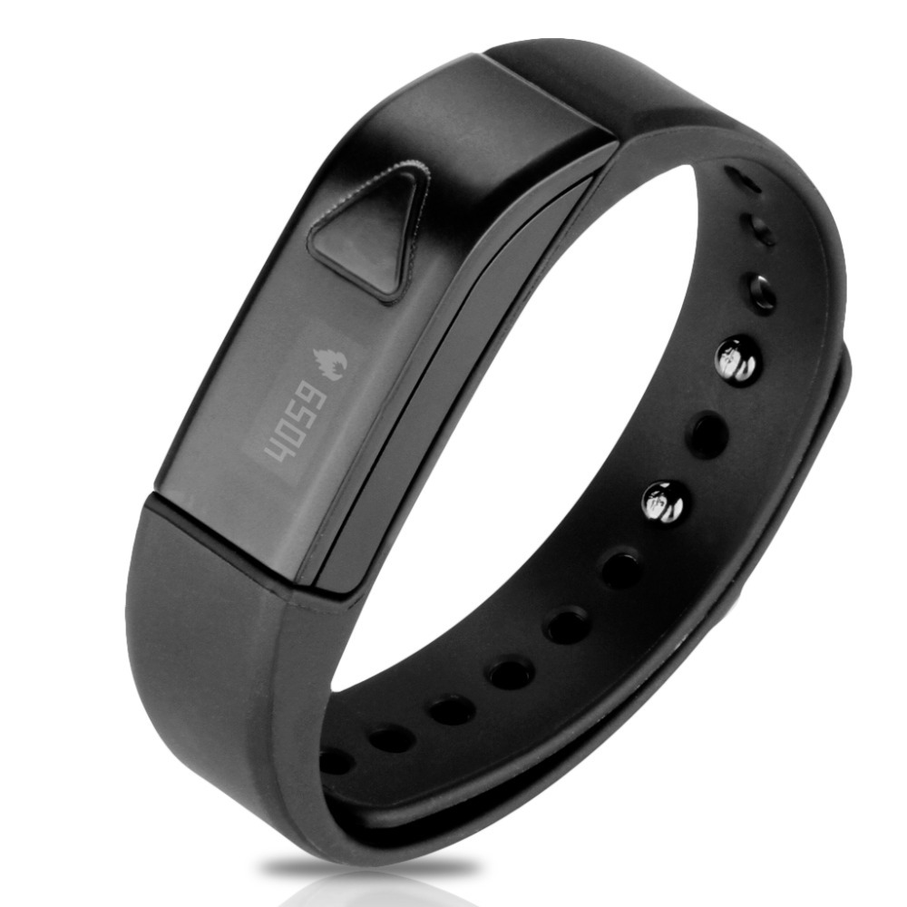 Excelvan OLED Smart Bracelet Bluetooth 4.0 Pedometer Tracking Calorie Health Wristband Sleep Monitor For Android IOS Phone(China (Mainland))