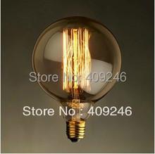 G125 RH LOFT Vintage Industrial Edison Retro Halogen Bulb For Cafe Bar 40W AC110V OR AC220V(China (Mainland))