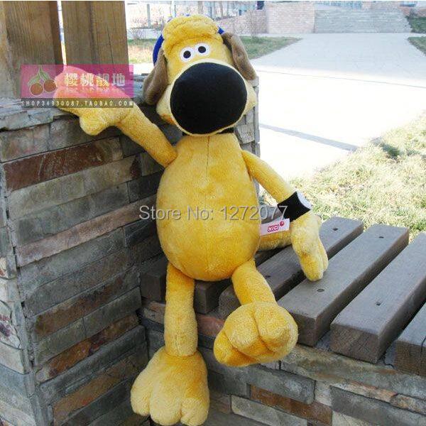 75cm Shauns The Sheep Stuffed Plush Toy, Bitzer Dog Baby Kids Doll Gift Free Shipping(China (Mainland))