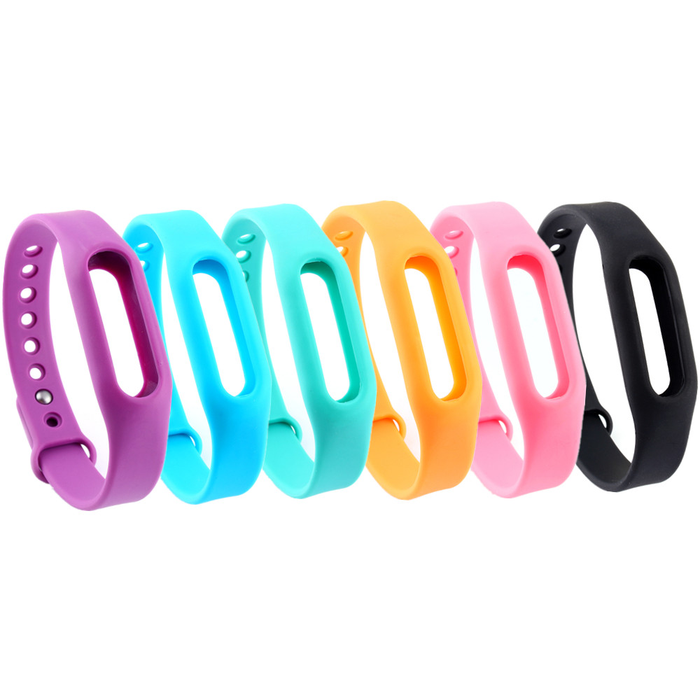 Colorful Replace For Xiaomi Mi Band Smart Wristband Silicone Belt Stra