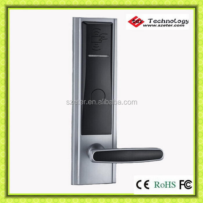 RFID RF electronic hotel lock for 4 5 star hotel ET820RF(China (Mainland))