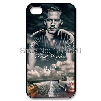 LUCKBUY Speed And Passion rip paul walker cell phone case for for iphone case4 4s 5 5s 5G 5C 6g 6 plus customized Design case(China (Mainland))