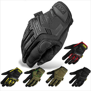 2015 New Mechanix Wear M-Pact Military Tactical Army Combat Riding Motorcycle Shooting Bicycle Motorcross Cycling Full Gloves(China (Mainland))