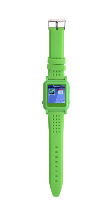 Free shipping with 4GB memory Q888 Green video cheap mp4 watch(China (Mainland))