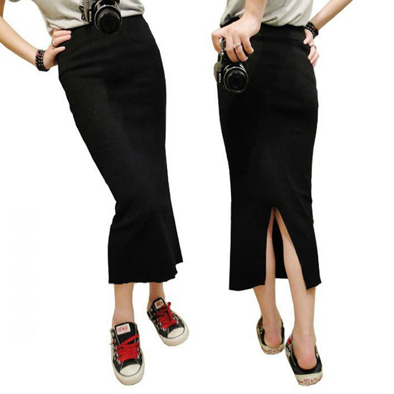 High Quality Knit Long Skirt Promotion-Shop for High Quality ...