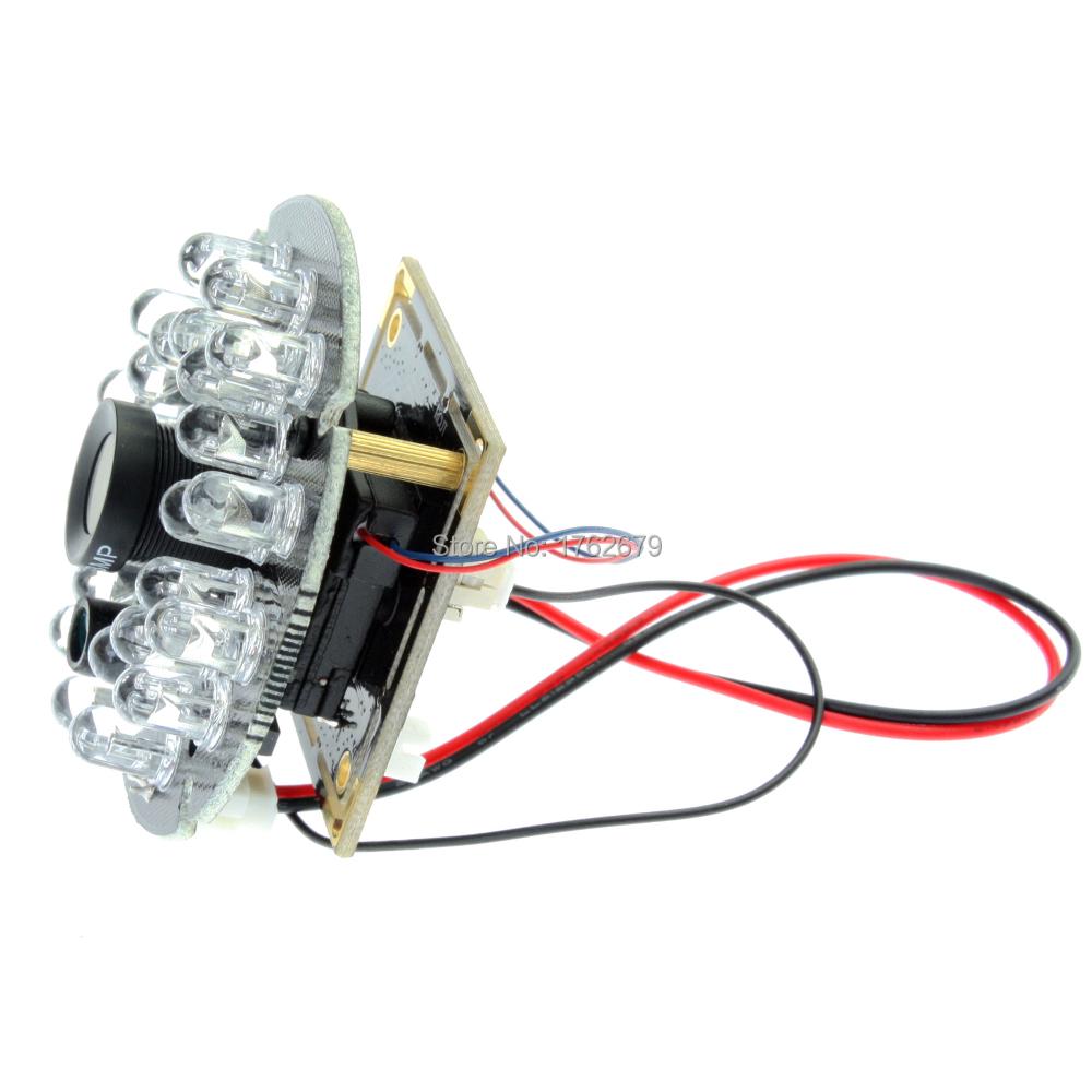 1.3 megapixel cmos mini IR cut & IR LED board usb infrared camera module ELP-USB130W01MT-RL60