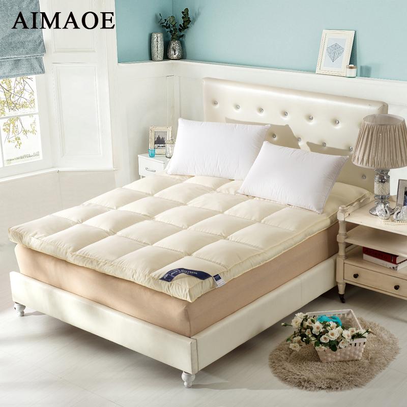 achetez en gros plume matelas pad en ligne des grossistes plume matelas pad chinois. Black Bedroom Furniture Sets. Home Design Ideas