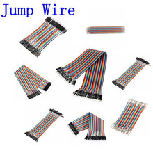 Favorable Electrical Durable reusable 40pcs 1-pin 10cm 2.54mm Male To Female Breadboard Jumper Wire Cable For Arduino Jump Wire(China (Mainland))