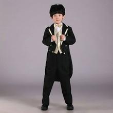 Neuankömmlinge kinderkleidung jungen kinder smokings sieben- Stück hochwertige jungen anzüge für hochzeiten(China (Mainland))
