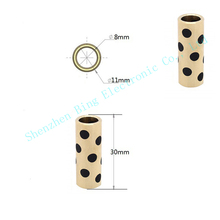 4pcs lot Ultimaker 2 Graphite Copper Sintered Bushing 8 11 30mm Self lubricating bearing 3d Printer