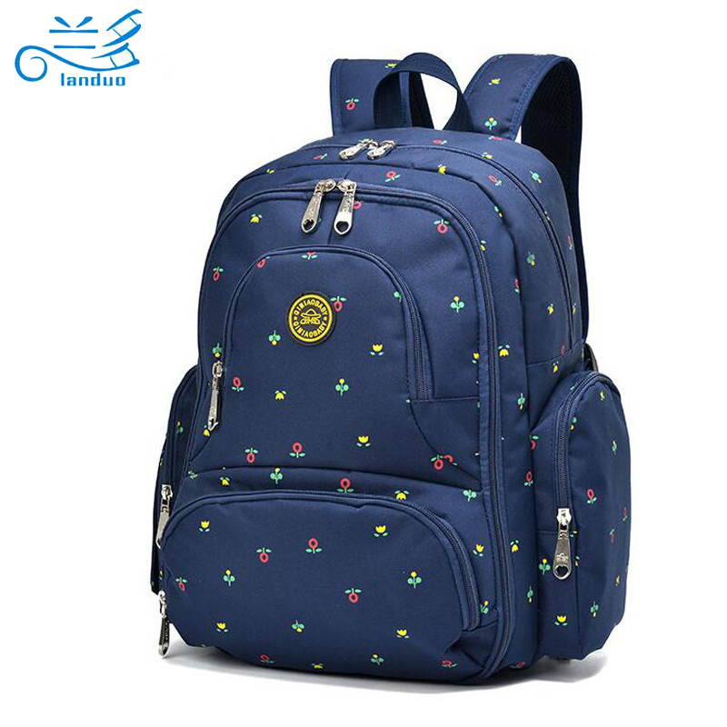 2016 new large capacity multifunctional mummy backpack nappy bag baby diaper. Black Bedroom Furniture Sets. Home Design Ideas