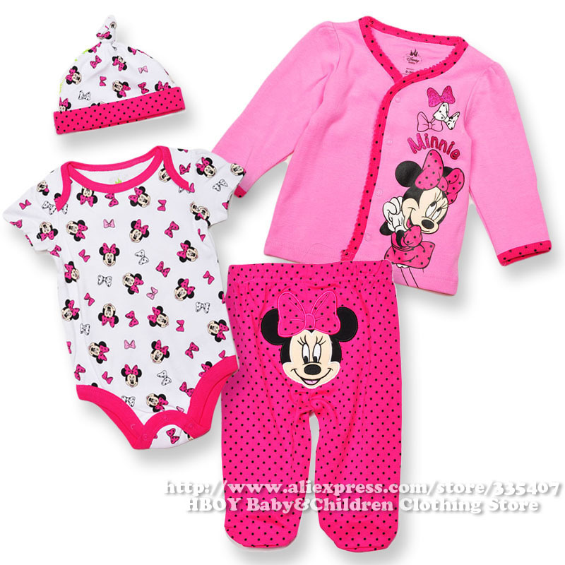 Be sure to shop Kohl's for all your Minnie Mouse baby girl clothing needs, and also check out our other baby toys, clothes, and accessories! Minnie Mouse baby clothes from Kohl's are sure to become everyday favorites for any little Disney fan.