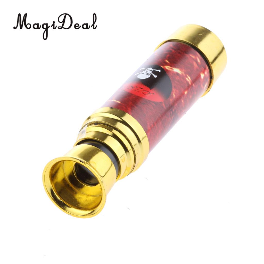 MagiDeal Mini Pirate Telescope Childrens Birthday Party Favors Gifts Bag Filler Toy Copper Game Gifts