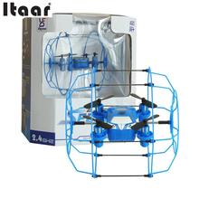 FY802 6 Axis Gyro Remote Control Quadcopter Wall Climbing Hover Drone RTF