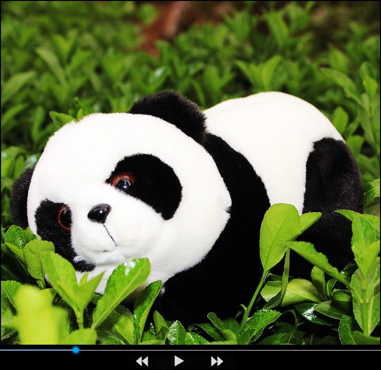 2015 national treasure mascot plush giant stuffed animals panda bear cute Nano doll baby toy best birthday gift for children(China (Mainland))