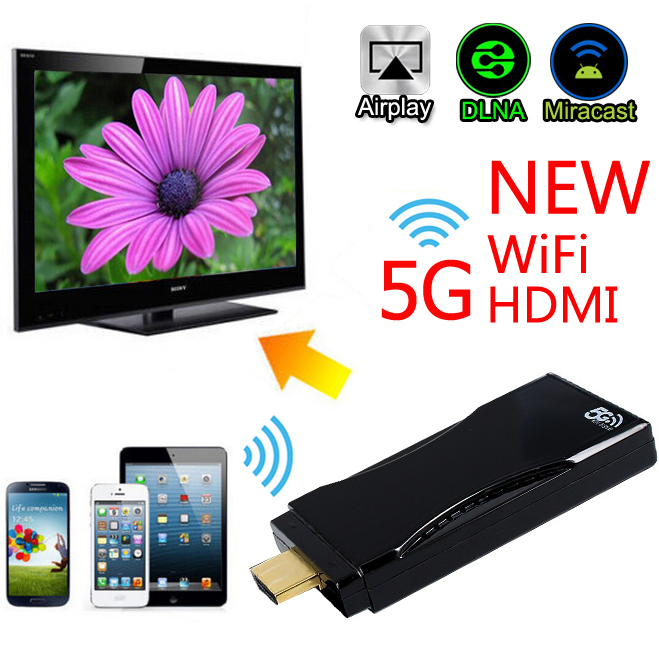 Buy universal hdmi mirror phone car dvd wireless link for Mirror iphone to tv