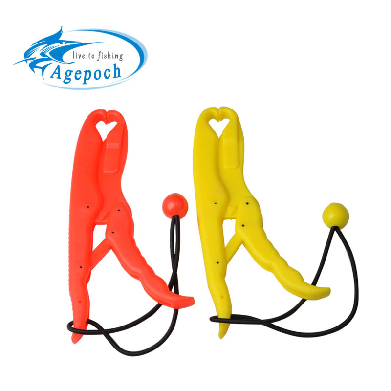 Agepoch ABS United Plastics Fish Grip Team Catfish Controller Lip Grip Floating Gripper Big Size Tackles For Fishing(China (Mainland))
