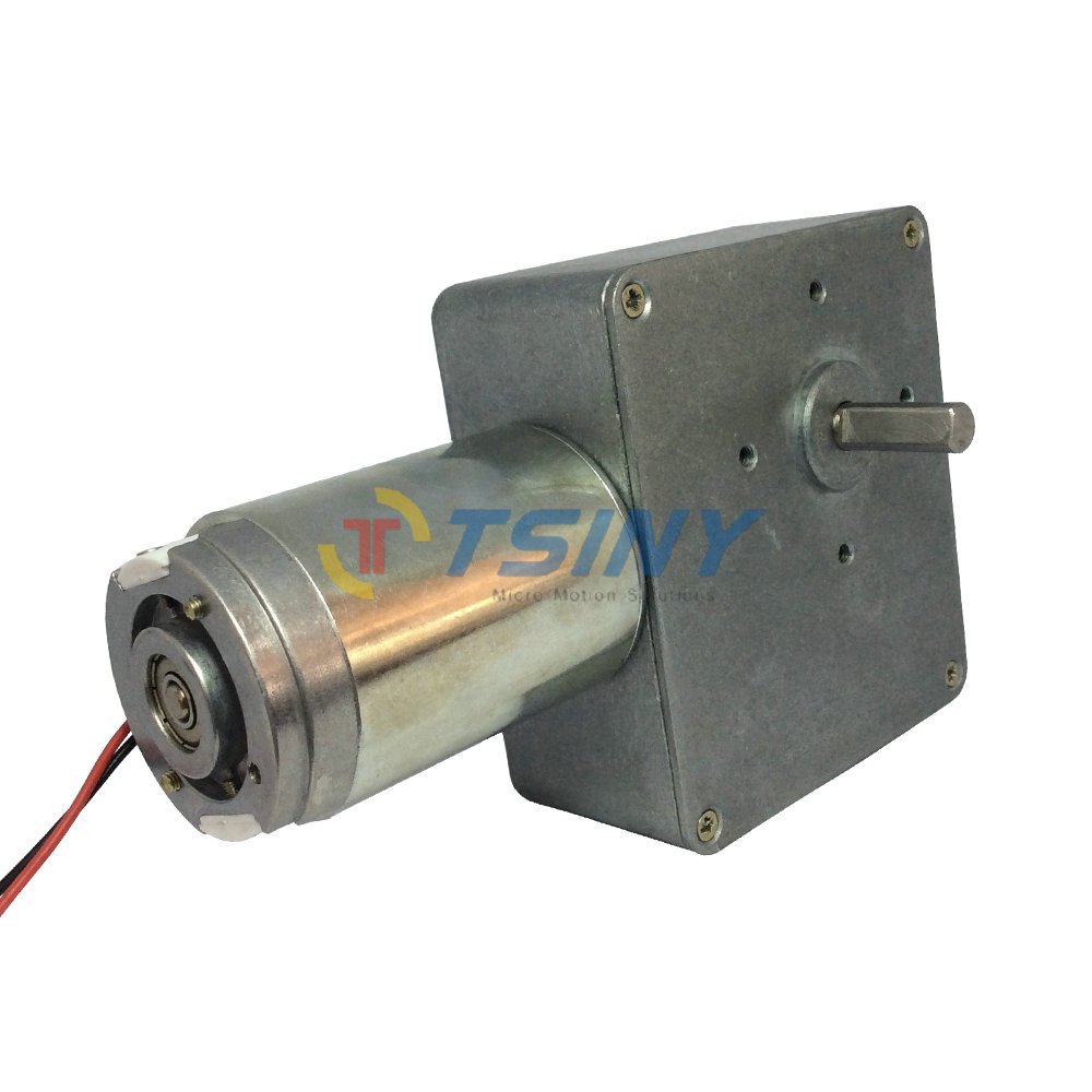 Buy dc 12v 14rpm high torque worm gear for Motor cargo freight company