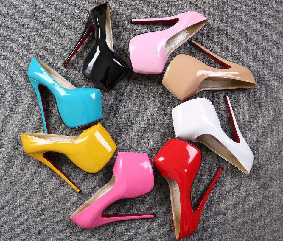 Compare Prices on Platform Pumps Red Sole- Online Shopping/Buy Low ...