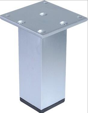 Hot sell modern square shape metal sofa legs furniture leg 38*38*100mm(China (Mainland))