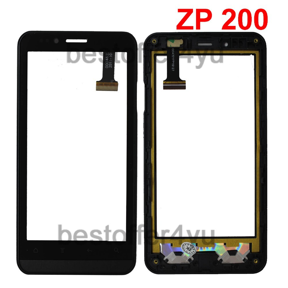 Original Zopo Zp200 Touch Screen Digitizer with frame Replacement for Zopo Zp200 Touch Panel +frame with TRACKING code(China (Mainland))