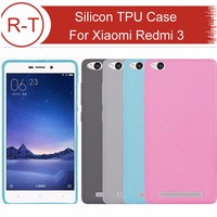 For Xiaomi Redmi 3 Case 5.0″ TPU Silicon Hybrid+PC Dual Layer Frame Back Cover Protective Accessory For Hongmi3 Cell Phone