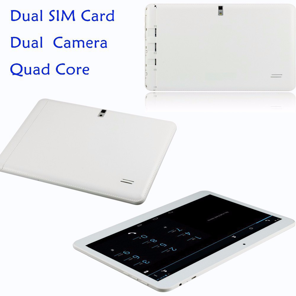 DHL free shipping 2015 Newest 10 inch Tablet PC Quad Core MTK6582 3G Phone Call Tablet 2GB RAM 16GB ROM 1024*600 Bluetooth WiFi